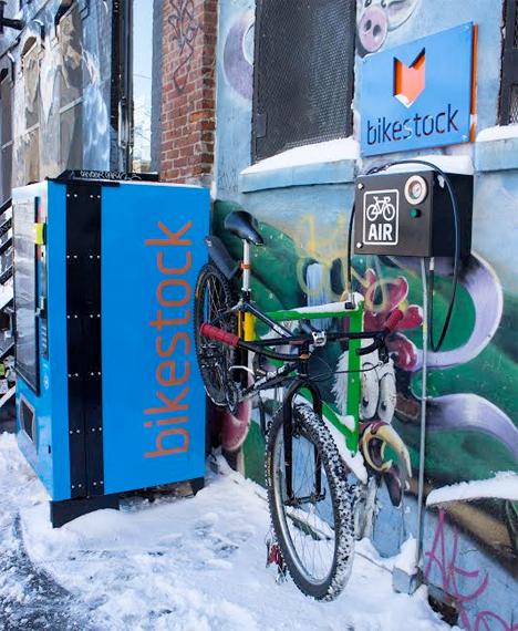 Weird Vending Machines Bike Parts