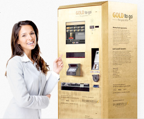 Weird Vending Machines Gold Bars