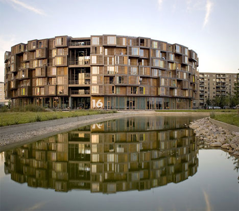 World S Coolest Dorms 7 Story Circular Student Housing Urbanist