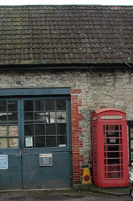 closed abandoned ambulance station Wiltshire England