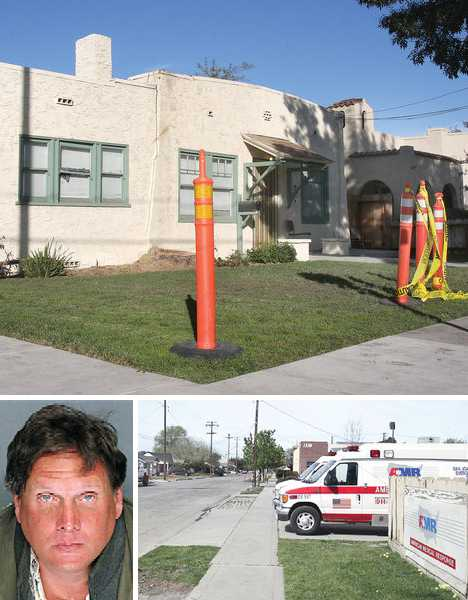 condemned ambulance substation Tracy CA
