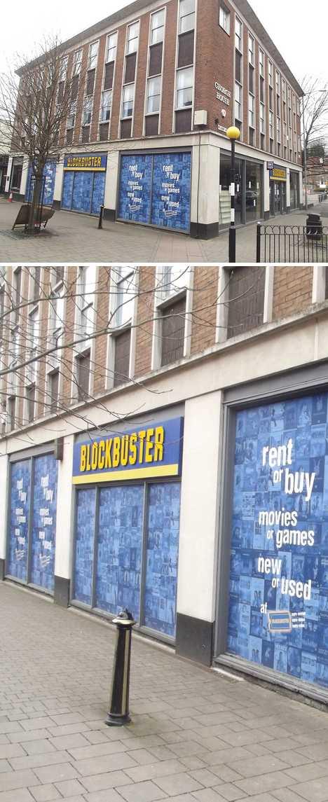 Closed Worcestershire UK Blockbuster Video