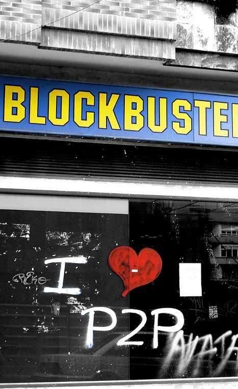 Closed abandoned Blockbuster Video Oviedo Spain