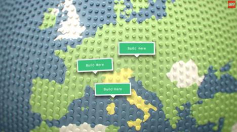 build lego google maps