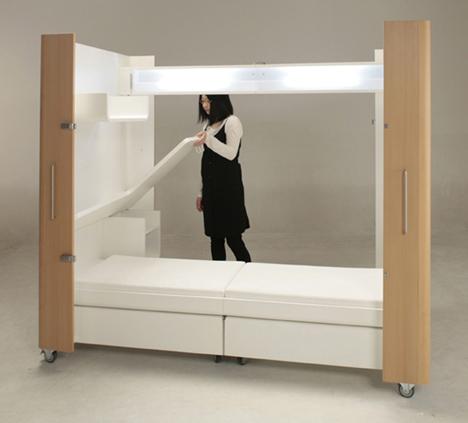 compact modular bedroom