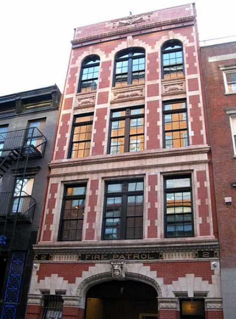 Anderson Cooper restored home firehouse New York