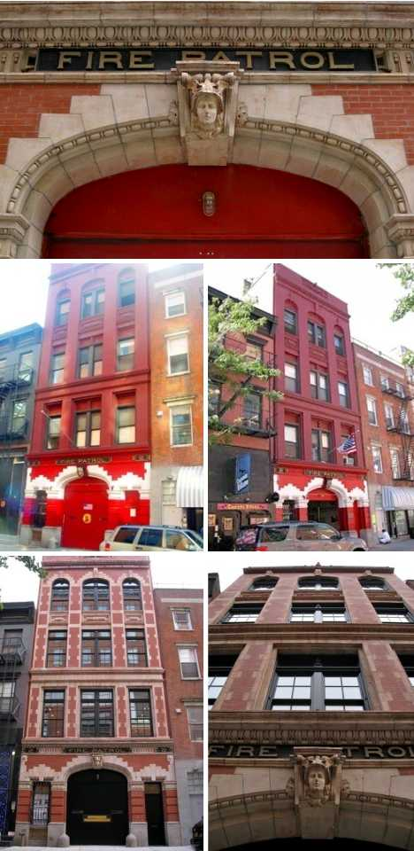Anderson Cooper firehouse home NYC Greenwich Village