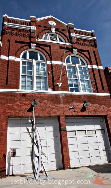 Washington DC Engine House No. 7 home firehouse
