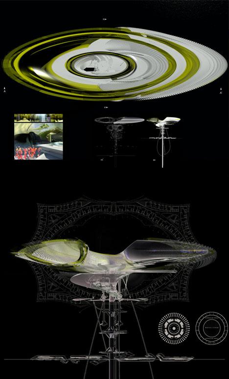floating prison design diagrams