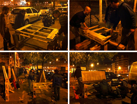 guerrilla street furniture build