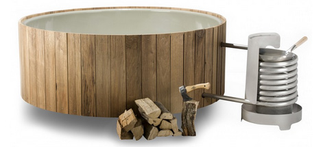 hot tub wood variant