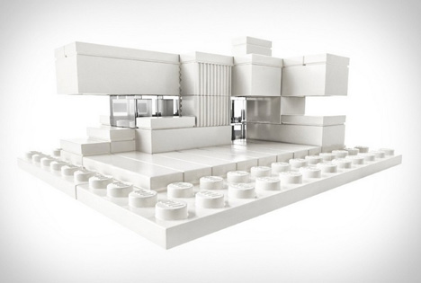 lego all white blocks