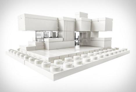 lego all white blocks