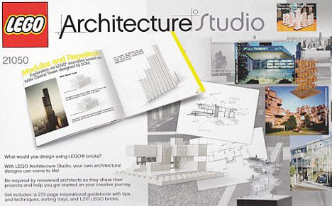 lego architecture studio booklet