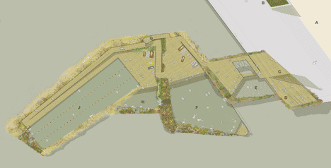 london pool site plan