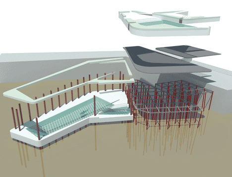 Swim the thames pair of pools for london s polluted river - Swimming pool structural engineer ...