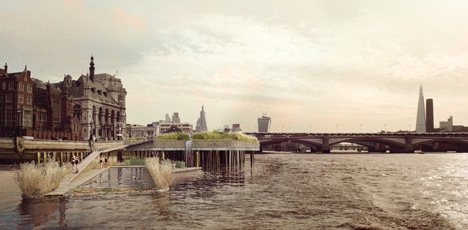 Swim The Thames Pair Of Pools For London S Polluted River