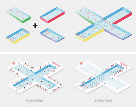 new york pool diagram