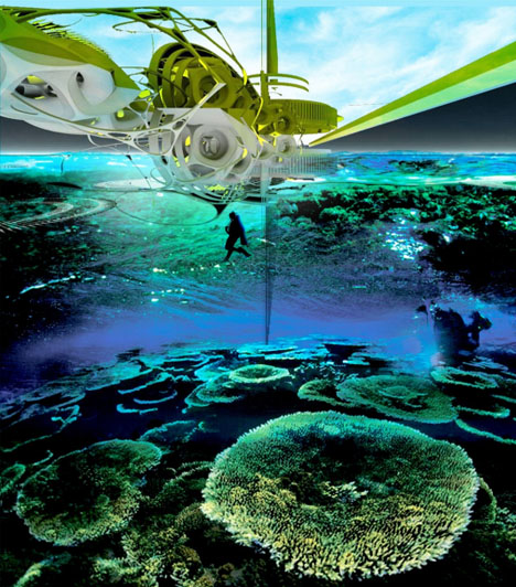 ocean artificial reef context