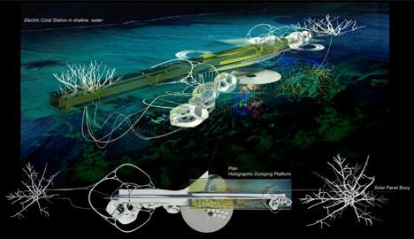 ocean reef generative process
