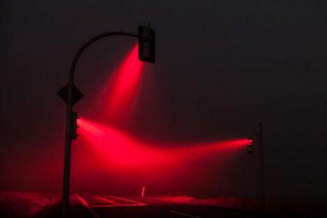rainbow night light red