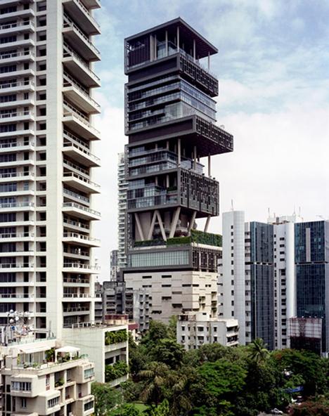 skyscraper urban luxury tower