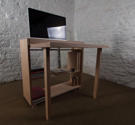 small space modular desk