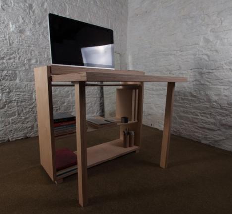 Small E Modular Desk