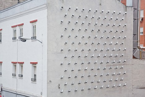 wall camera 2d illusion