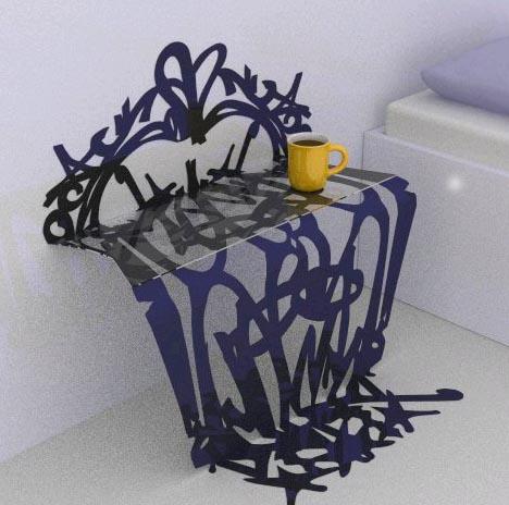 3D graffiti graffurniture 2