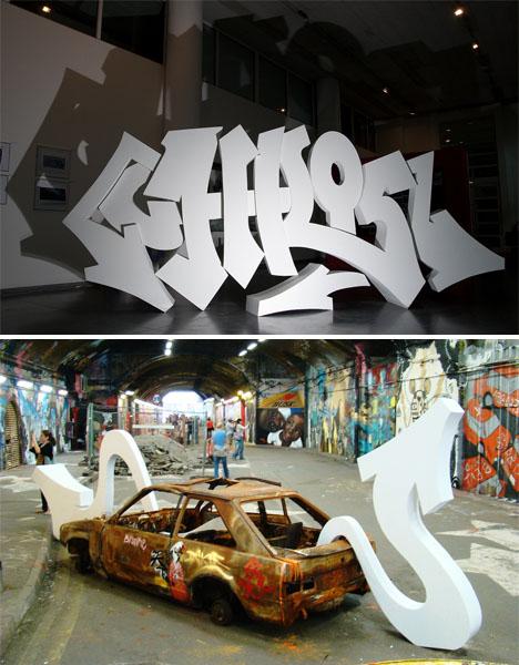 3d graffiti zeus