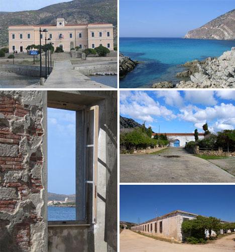 Abandoned Mediterranean Asinara