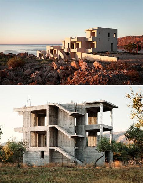 Abandoned Mediterranean Greece Villas 1