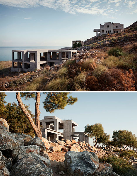 Abandoned Mediterranean Greece Villas 2