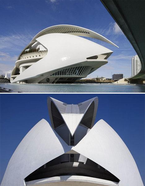 Architectural Failures Calatrava Opera House