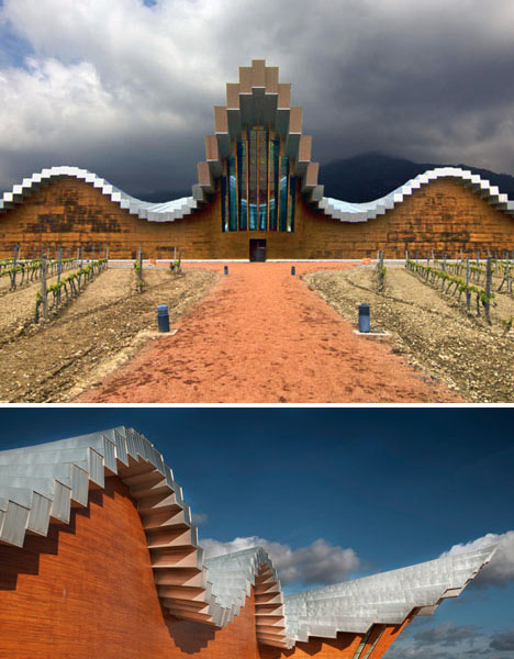 Architectural Failures Calatrava Winery
