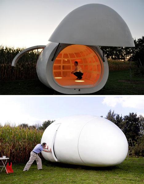 Blob Modern Mobile Home 2