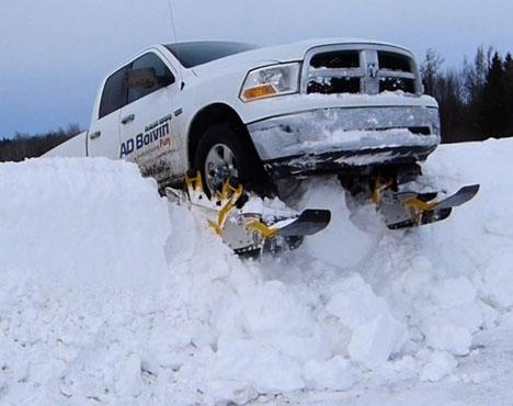 Convert Truck Snowmobile 1