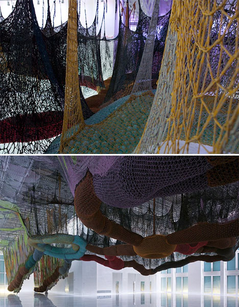 Crocheted Playscapes Neto Environment 2