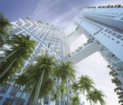 Fractal Architecture Sky Habitat 1