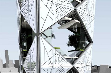 Fractal Architecture Tetrahedron 2