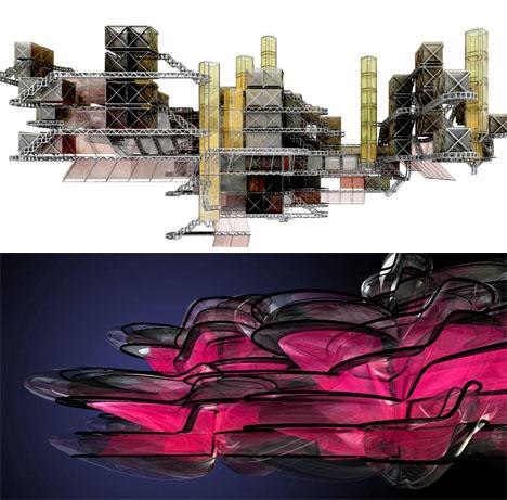Fractal Architecure L Systems