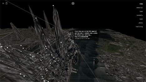 Invisible Cities Data Visualization 2