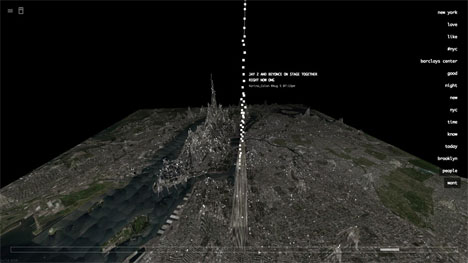Invisible Cities Data Visualization 3