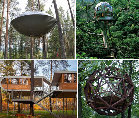 Modern Tree Houses 14 Awesome Arboreal Dwelling Designs Urbanist