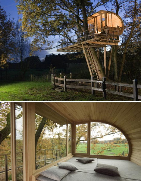 Modern Treehouses Baumraum