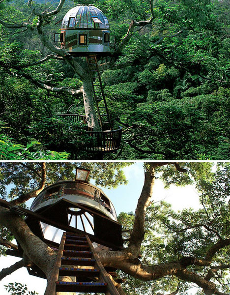Modern Tree Houses: 14 Awesome Arboreal Dwelling Designs ...