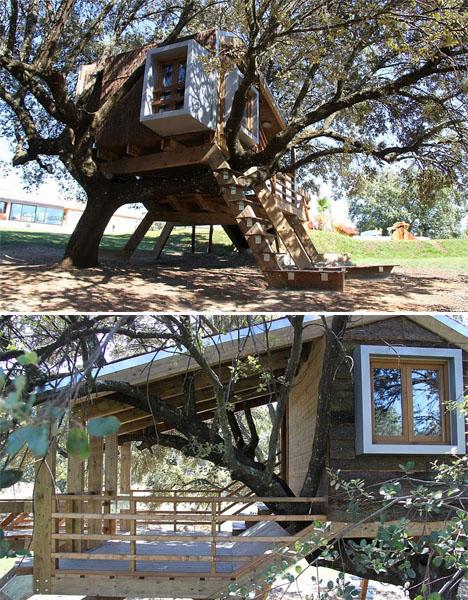 Modern Treehouses Casa Arbol