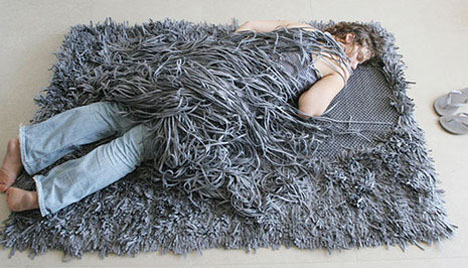 Napping Furniture Comb Over Rug