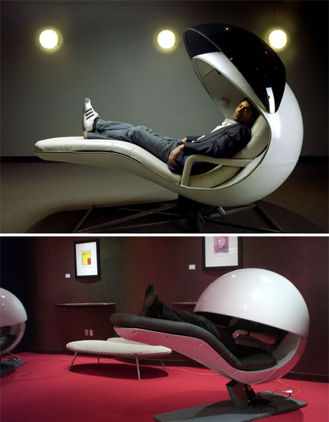 Energy Pod energy pods to ostrich pillows: 15 nap-worthy inventions | urbanist
